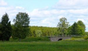 Pretty Little Stone Bridge