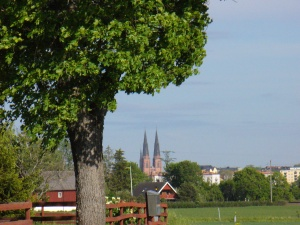 View of Uppsala