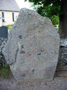Uppland Runestone #481 - Lagga Kyrka