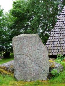 Uppland's Runestone #1168 - Österunda Church