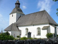 Biskopskulla Kyrka (Bishop's Hill Church)
