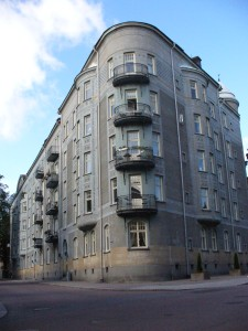 Old Blue Building