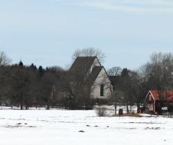 Börje Kyrka Over The Snow