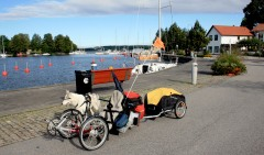 Loke, Trike & Trailer At The Harbor