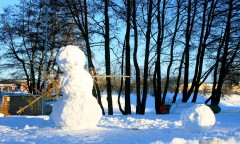 Giant Snowman!