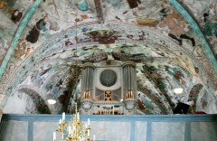 Organ Loft With Its Murals