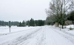 A Near Perfect Winter Road