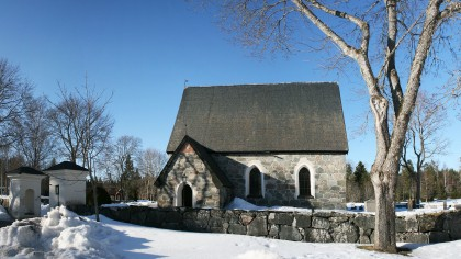 Morkarla (not Morloc) Church