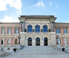 One of the impressive Uppsala University buildings.
