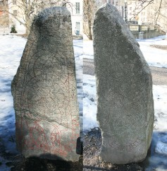 Uppland Runestone #1011 - Double Sided