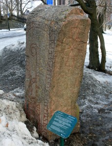 Uppland Runestone #932 - Triple sided!