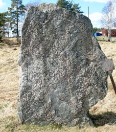 Uppland Runestone #448 - Close Up
