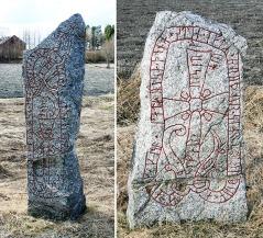 Uppland Runestones #453 & 454