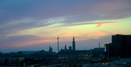 Blurry Dawn Over Copenhagen
