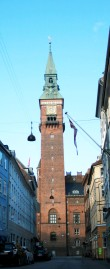 Street View of City Hall Clock Tower