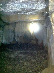 Right Side of Burial Chamber