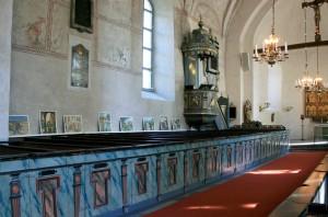 Gamla Uppsala Church Interior
