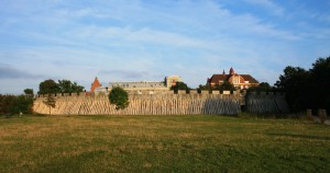 Reconstructed Palisade At Trelleborg