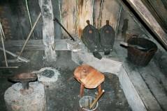 Smithy Hut - Interior