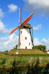 Windmill In Damme