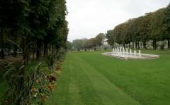 Garden near the Porte Mars