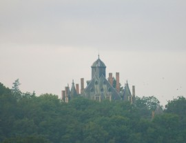The top of a chateau
