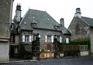 One of Salers larger cottages