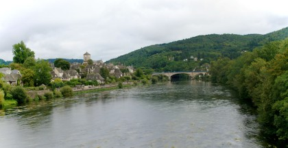 Village on the Dordogne