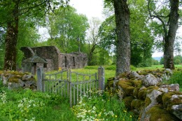 Old Brunn Church Ruins