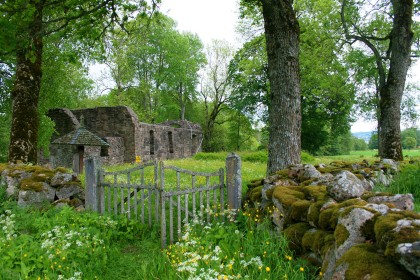 Old Brunn Church Ruins