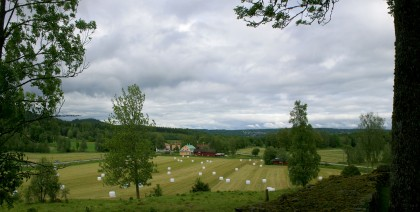 View from New Brunn Church graveyard