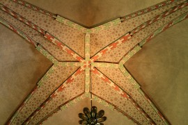 Another lovely vault with geometric patterns