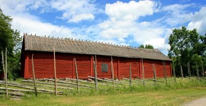 Building at Härkeberga Church's Vicarage