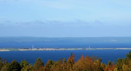 Lake Vättern on a mostly sunny day!