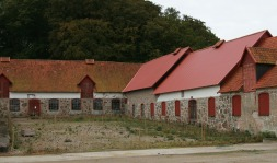 A portion of the stables