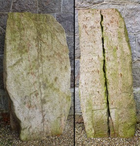 Kuregårdsstenen & a grave stone