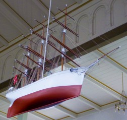 Klemensker Church's Model Ship