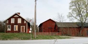 Old farmhouse and buildings