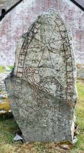 Uppland Runestone #297 at Skånela Church
