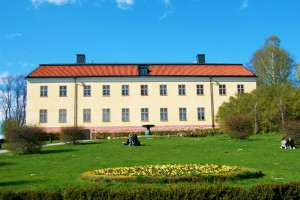 The back of Edsberg Castle