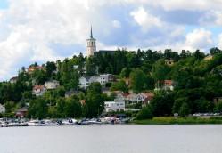 View across Edsvik (Ed's Inlet)