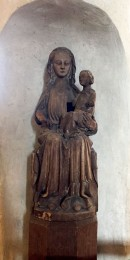 Danderyd's Church -Madonna and Child carving