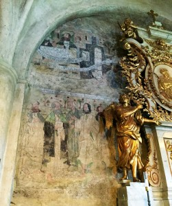 Some of the remaining murals