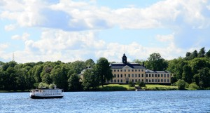 Ulriksdal Castle across the way