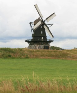 Another windmill at top of the evil hill
