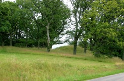 Looked like burial mound to me!