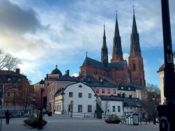 The old heart of Uppsala