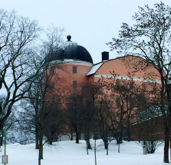 Northern end of Uppsala Castle