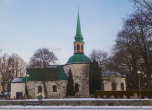 Bromma Church in winter!