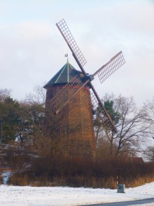 Windmill! I know where I am!